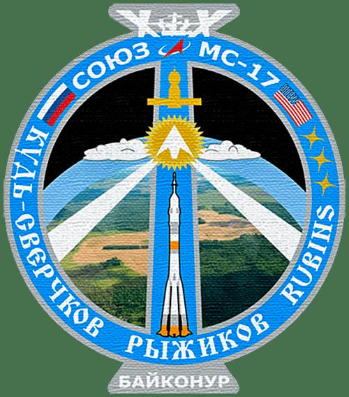 эмблема основного экипажа Союз МС 17